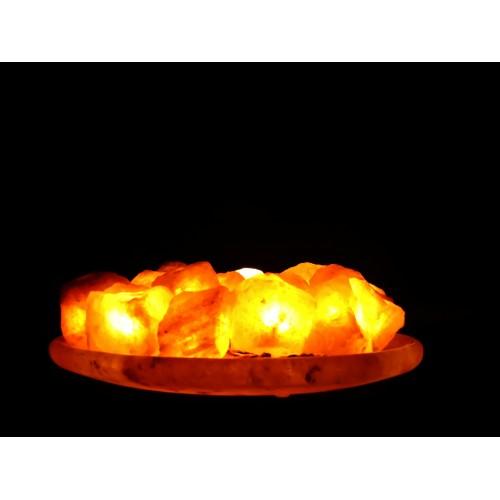 """Соляная лампа """"Огненая чаша"""""""