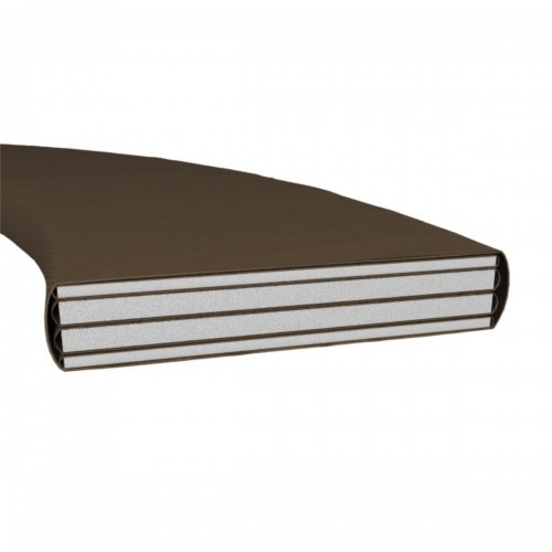 Батут UNIX line Black&Brown 8 ft (inside)