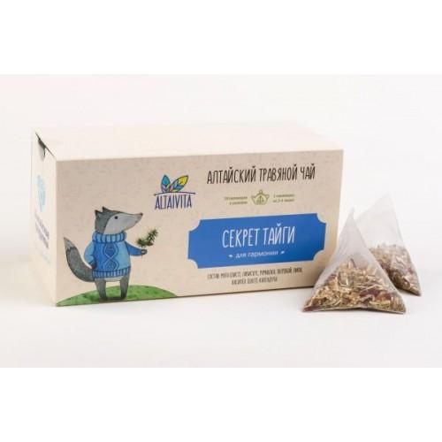 """""""Секрет тайги"""" травяной чай в пирамидках, (40 г)"""