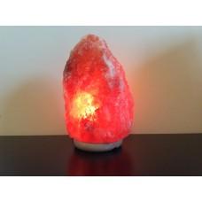 """Соляная лампа """" Скала"""" 5-7 кг на мраморной подставке"""