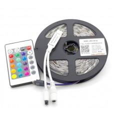 Светодиодная лента RGB с контроллером и блоком питания