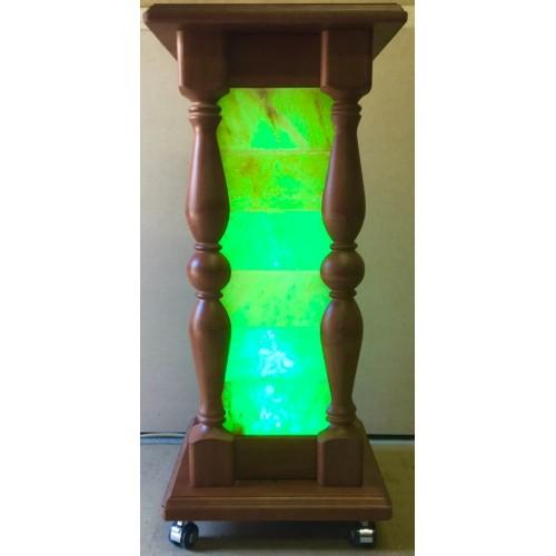 Стойка-лампа напольная с гималайской солью